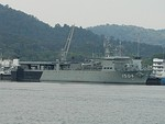 KD Mahawangsa (1504) berthed at Lumut Naval Base.jpg